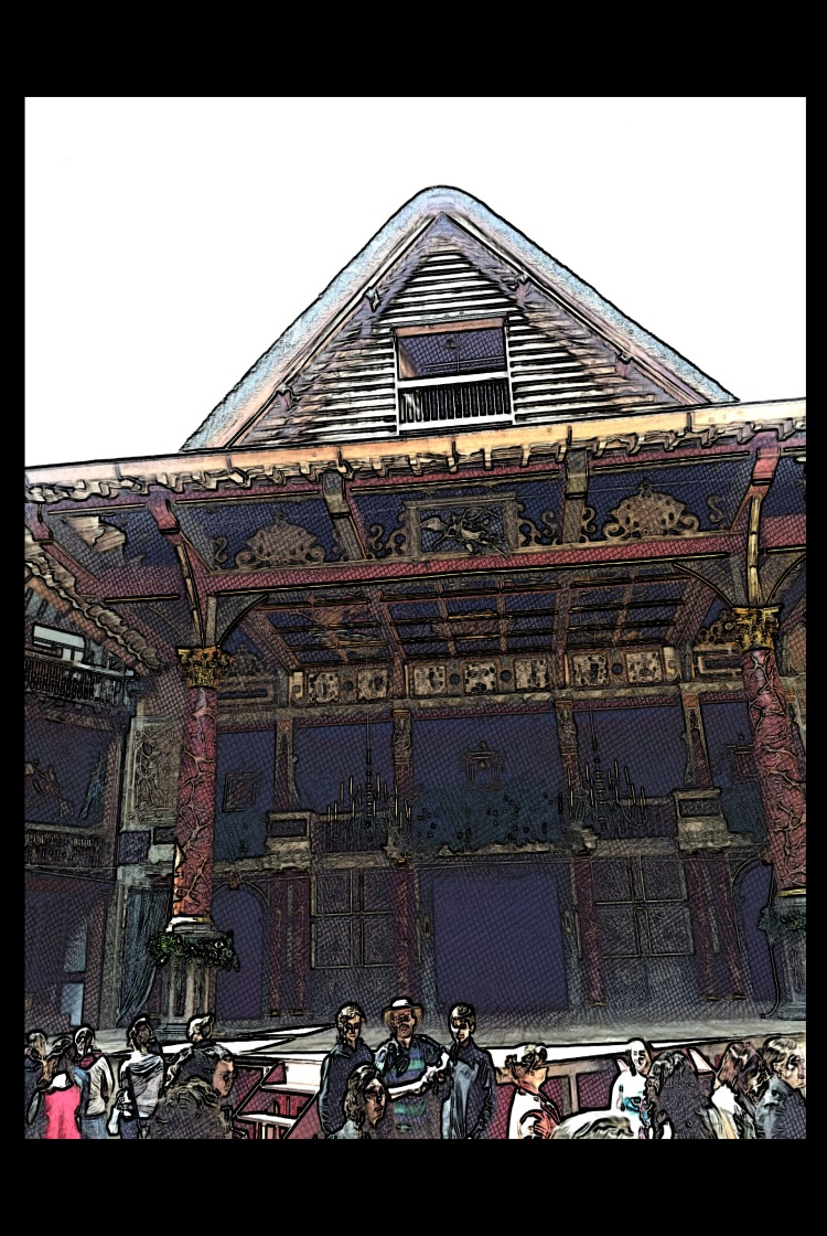 Globe Theatre London 1