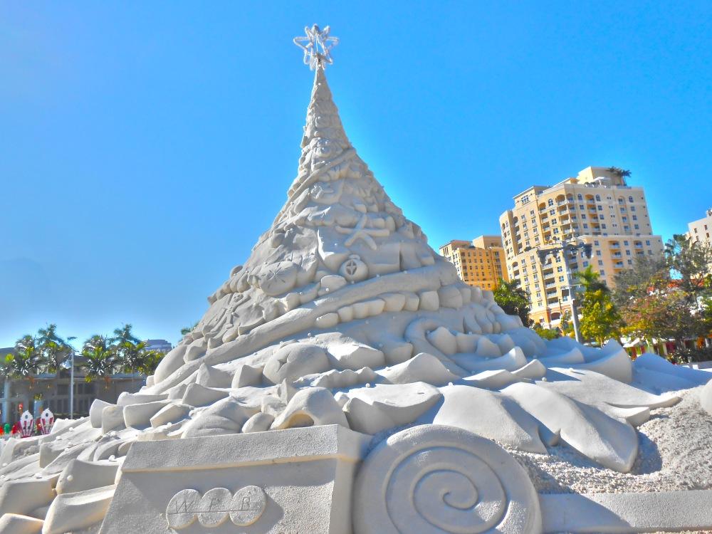 Sand Christmas Tree