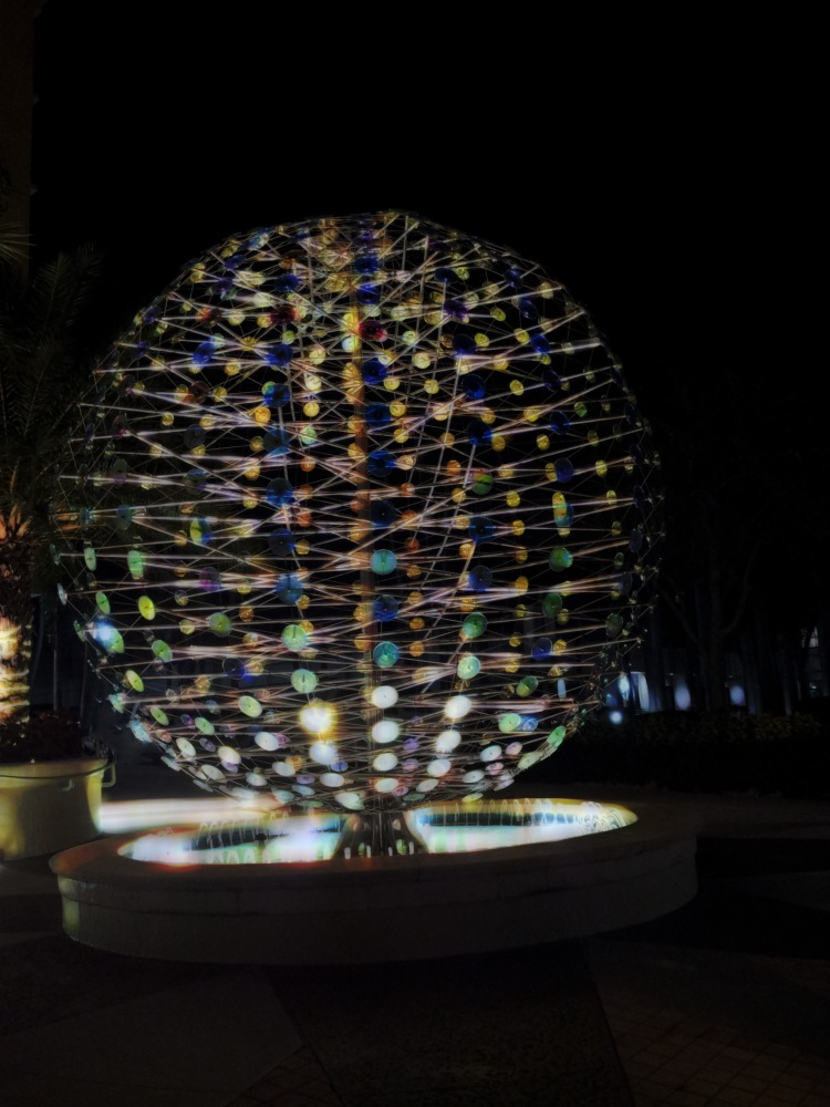 Spinning Color Orb