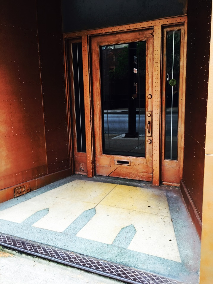 Copper Doorway 5th