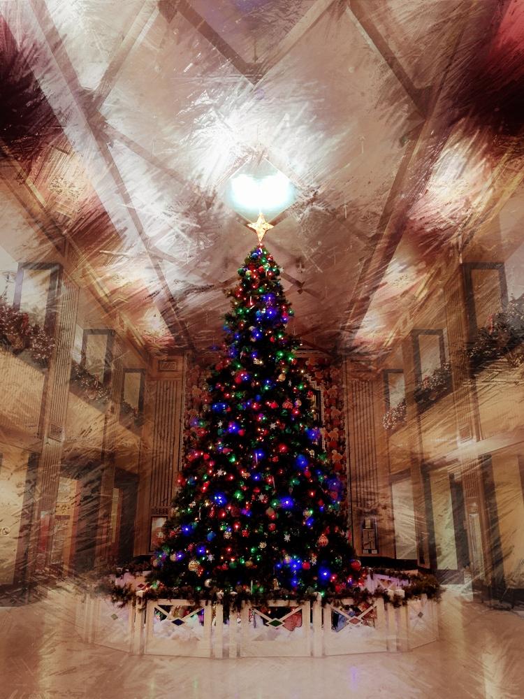 Carew Christmas Tree 2015