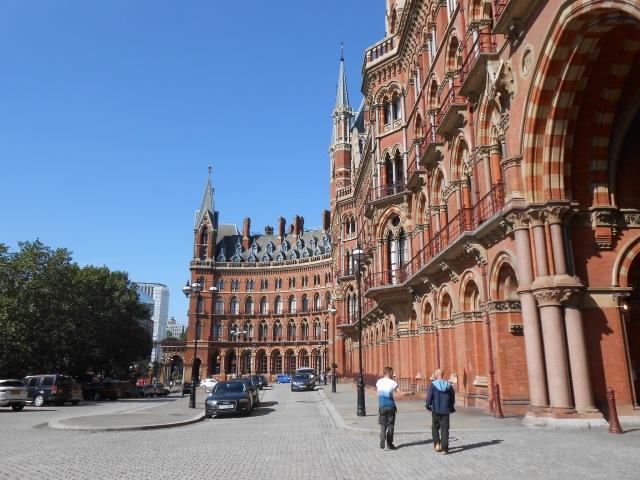 London 2014 St. Pancras Station